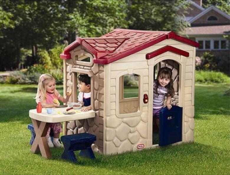Little Tikes Picnic N Playhouse on the Patio Kitchen Backyard ...