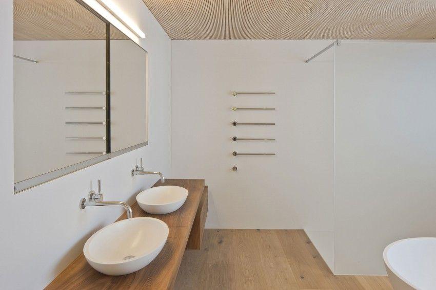 A Hi Macs Home In Termen Badkamer Interieur En Wanden