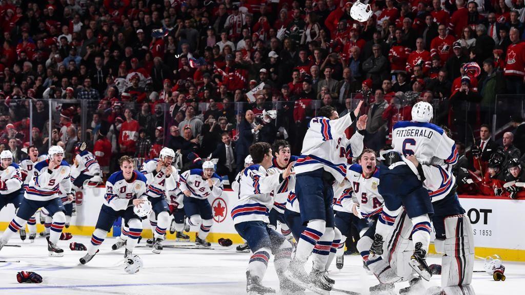 United States Wins World Junior Championship United States Championship Game States