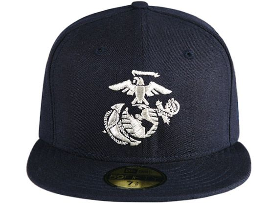 best sneakers be2b9 6692f USMC Globe 59Fifty Fitted Cap by NEW ERA x USMC