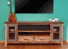 Aspen Antique Multi Color 76 Tv Stand