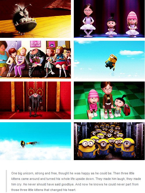 I Just About Teared Up At The End Of This Movie When Gru Read The Book He Made 3