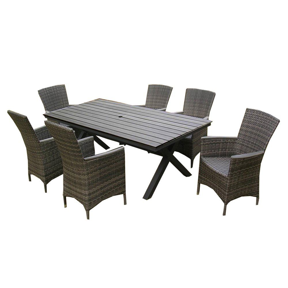 Shop Henryka CW4227 Wicker 7 Piece Dining Set At Loweu0027s Canada. Find Our  Selection