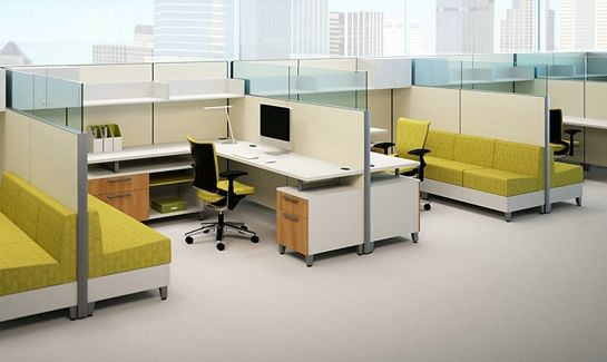 latest workstation designs from allsteel provided by sam clar office furniture