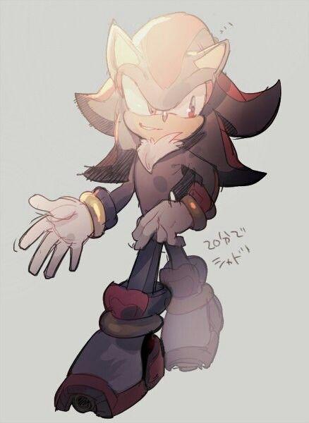 Smirking shadow   Sonic and friends   Shadow the hedgehog, Sonic fan