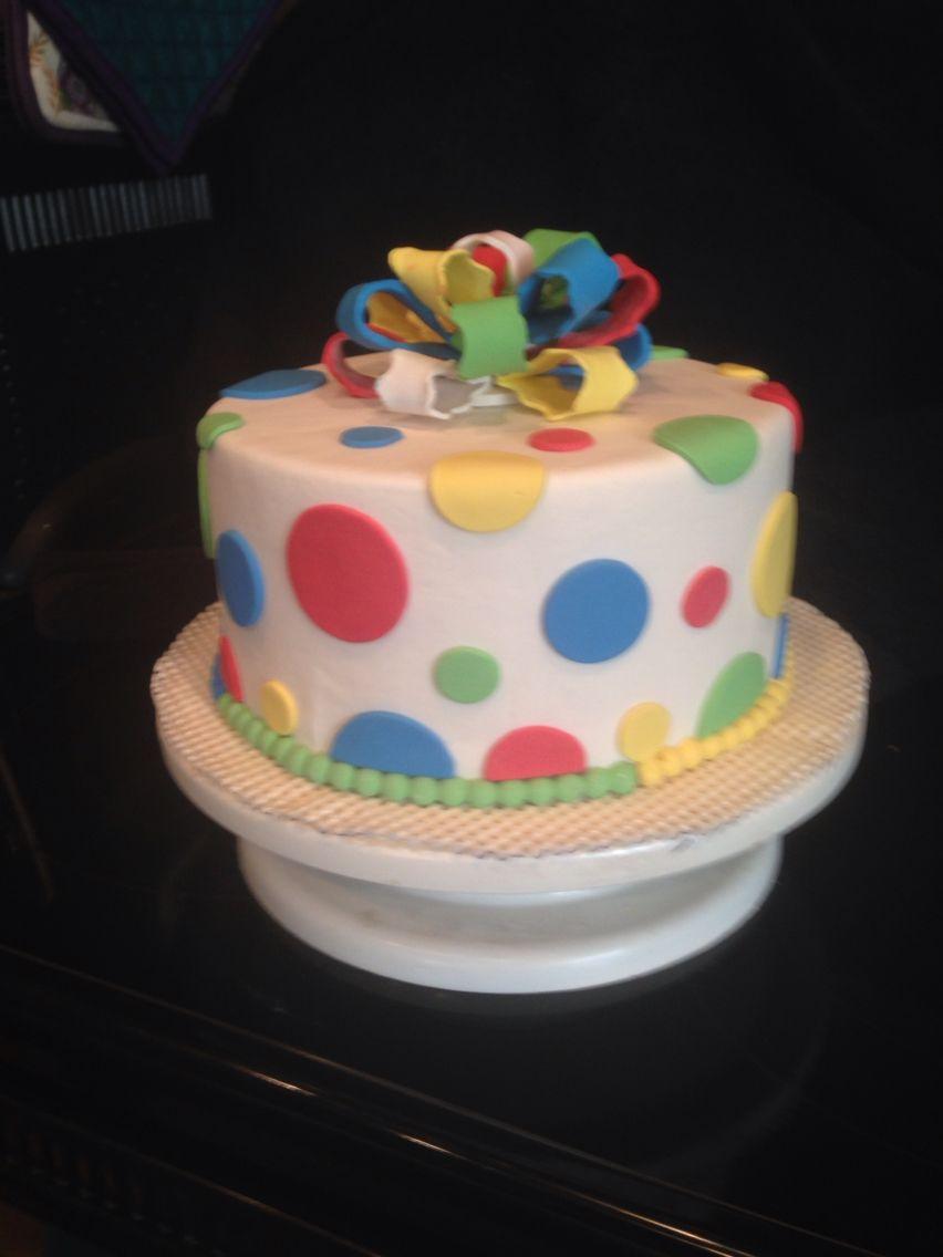 Polk-a-dot cake