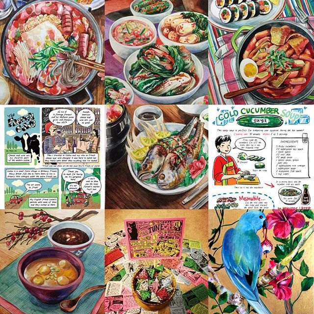 2015 was all about cooking korean food and drawing them ive 2015 was all about cooking korean food and drawing them ive finished drawing my first full length cooking comic book and i have made great new friends in forumfinder Gallery