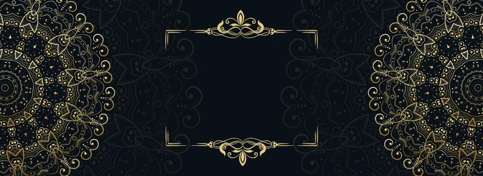Black Gold Wedding Invitation Card Europe And America Gold