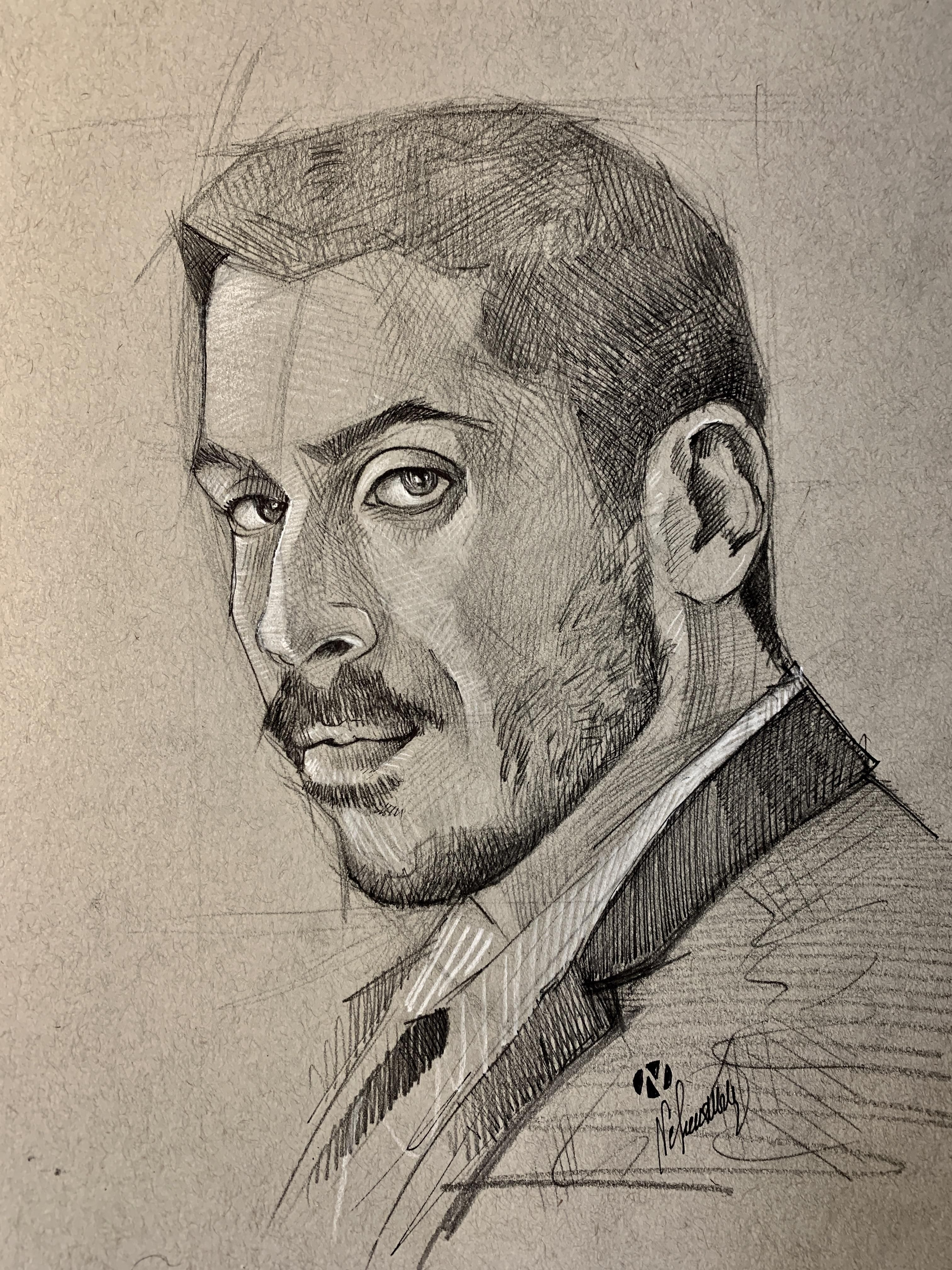 Kobi Marimi Eurovision 2019 Israels Representative Star With An Unusually Stunning Performance Of Home Nickmoscovitz Eurovision Drawings Pencil Drawings
