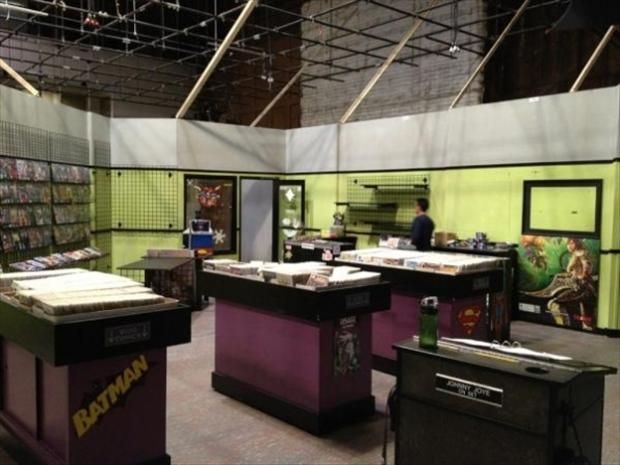 The Big Bang Theory   Comic Book Store  (Behind The Scenes)