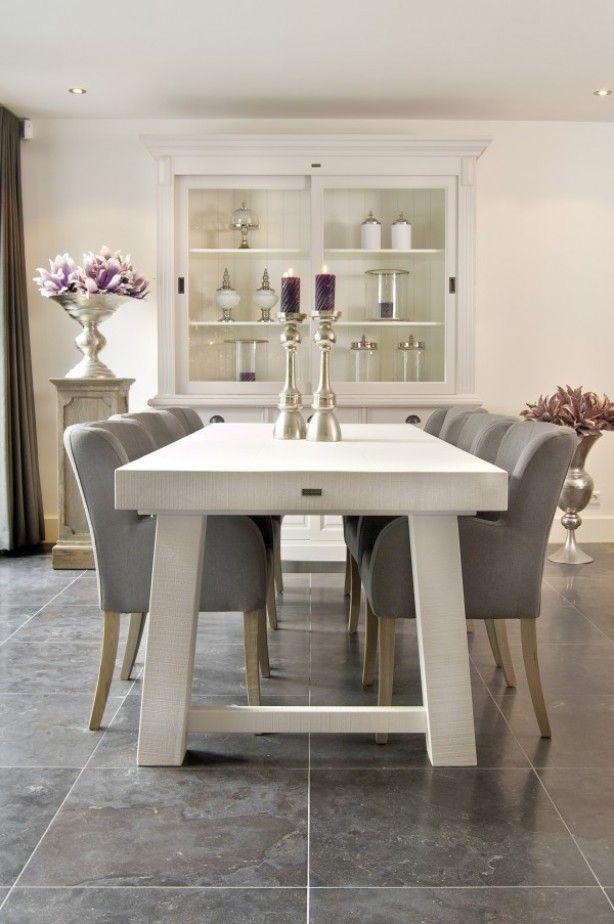 hele mooie eetkamer | Dining Room | Pinterest - Eetkamer, Modern ...