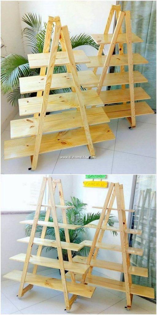 Easiest Diy Ideas With Recycled Wood Pallets En 2019