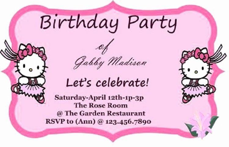 Pink Birthday Invitation Using Microsoft Word Check More At Http Cardpedia Net 2018 10 10 Pink Birthday Invitation Using Microsoft Word