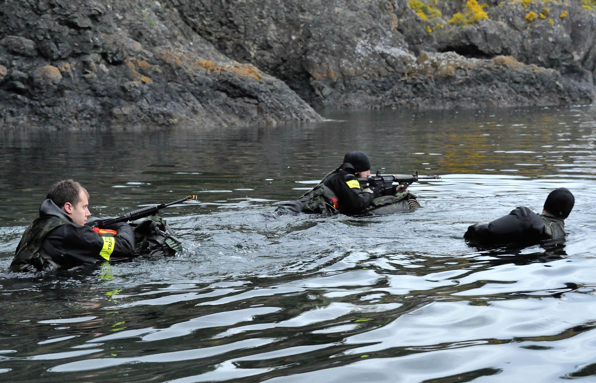Near Canadian Forces Base Esquimalt, British Columbia. 16