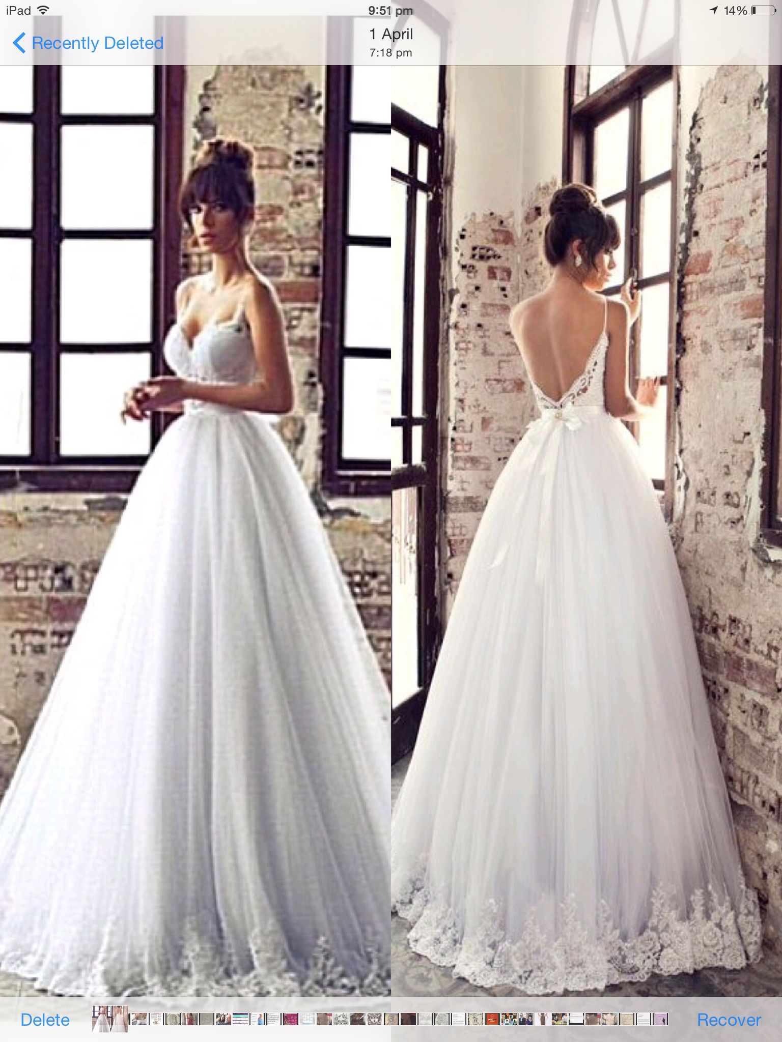 Trying on wedding dresses for the first time  My dream dress for my wedding  Beautiful Dresses  Pinterest