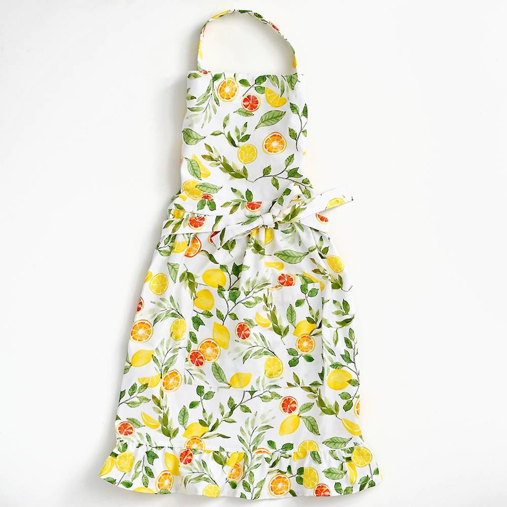 Womans Lemon Apron One Size Fits All