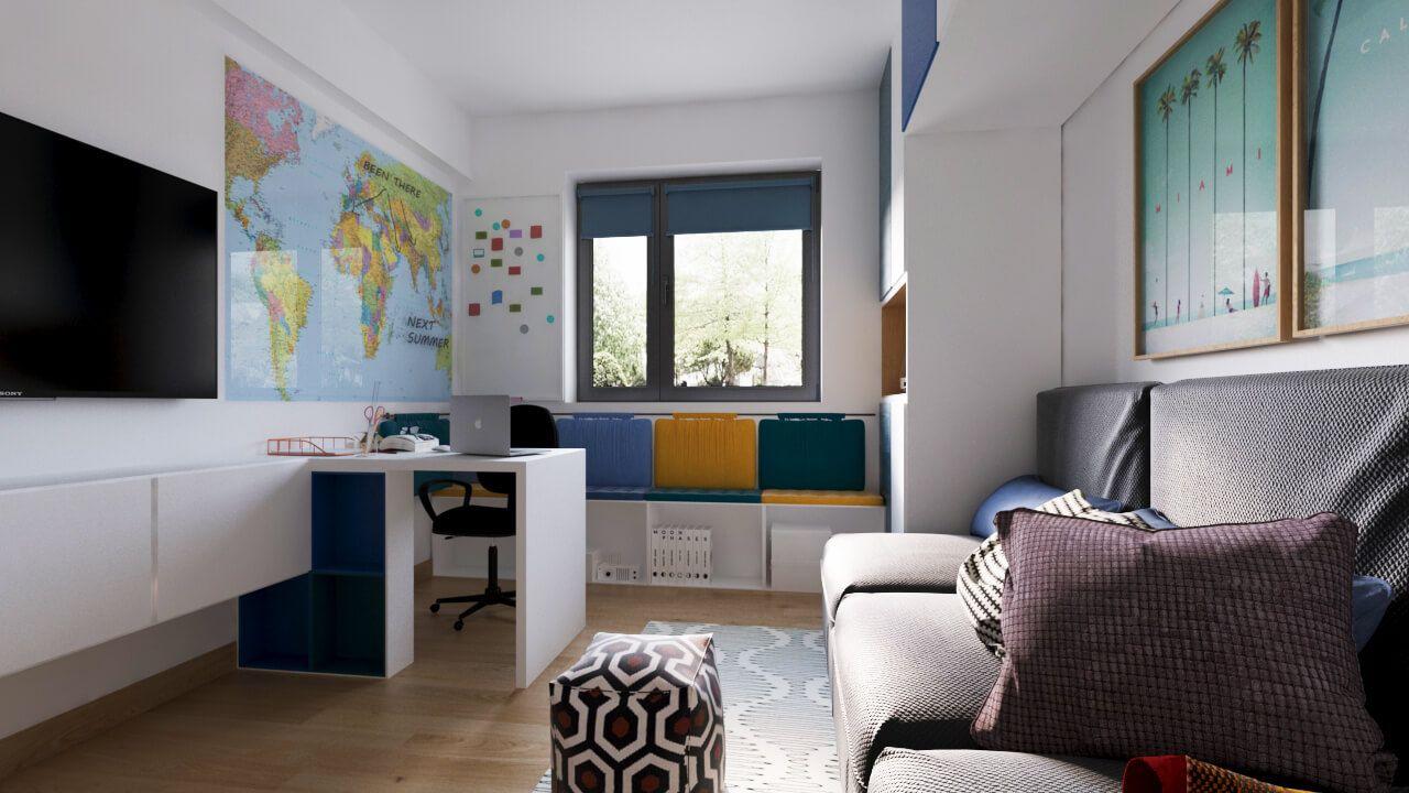 Design interior apartament greenfield idecorate also dormitor in rh pinterest