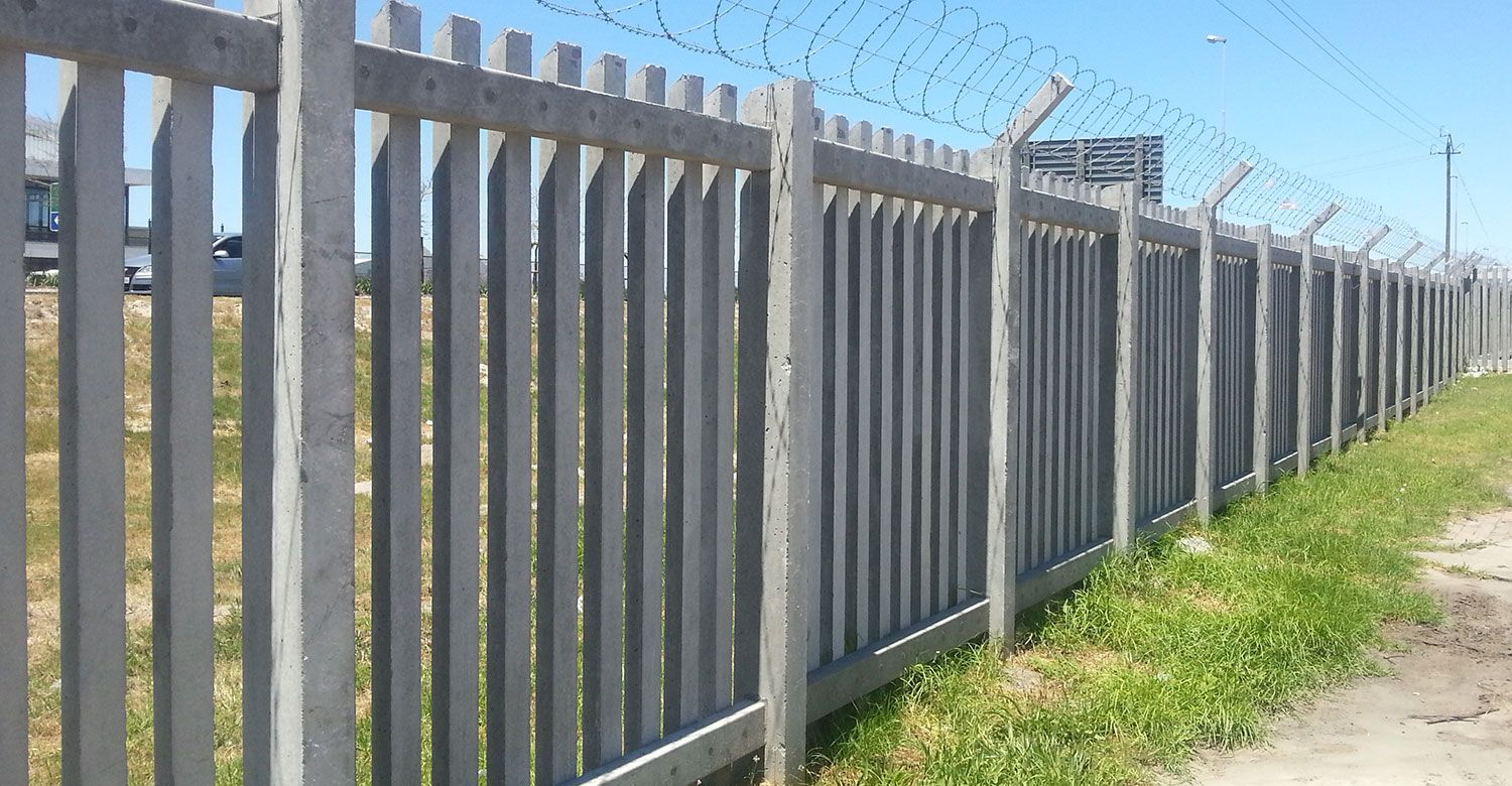 Palisade Cape Town Fencing Solutions Concretex South Africa Palisade Fence Palisades Security Fence