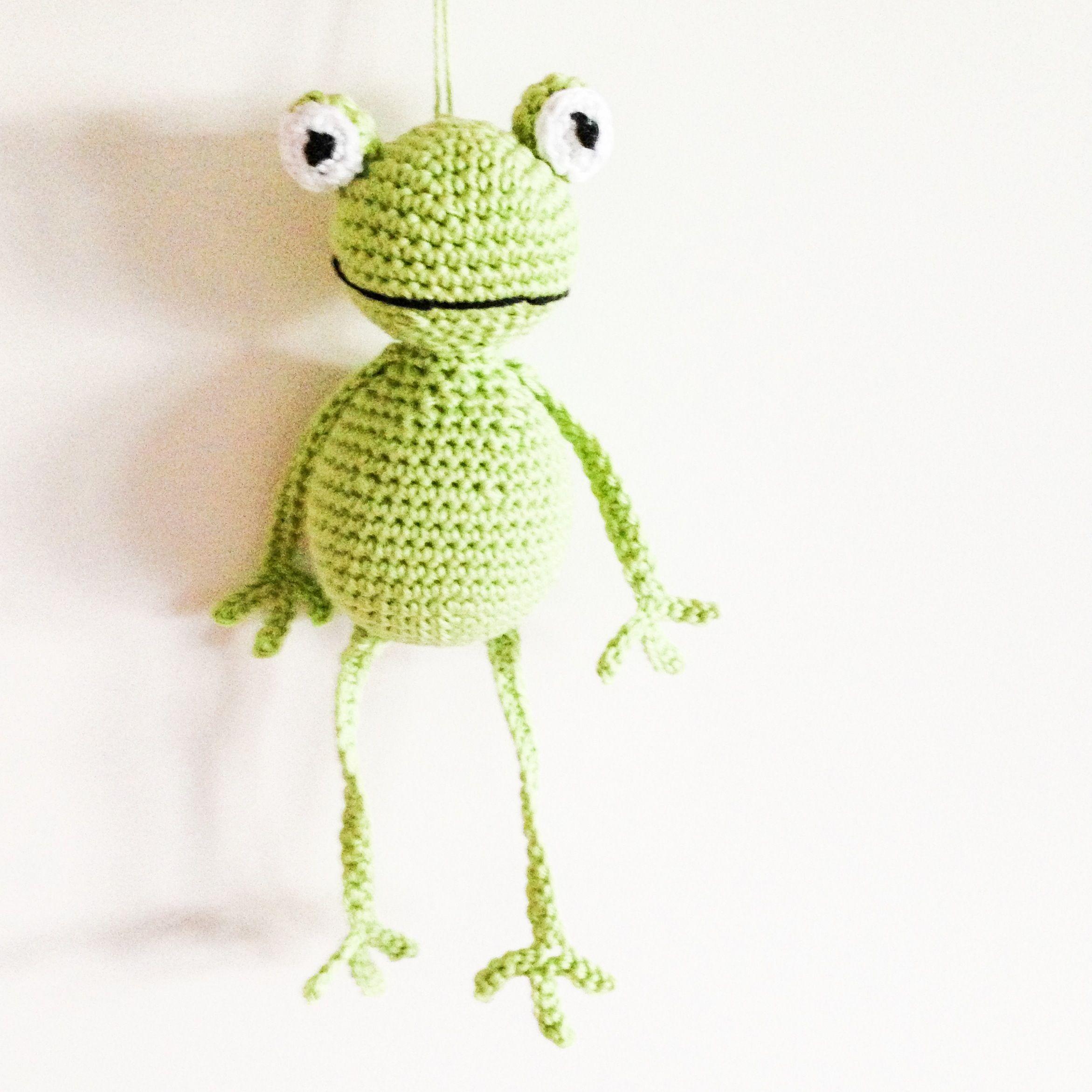 Crochet frog | ranas crochet | Pinterest | Ranas, Anfibios y Reptiles