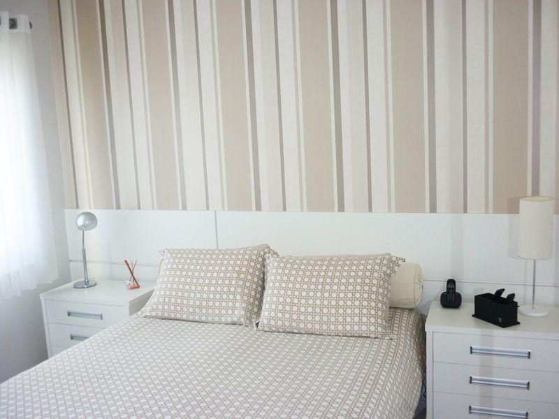 papel de parede para quarto Quartos Pinterest  ~ Ver Quartos Decorados Com Papel De Parede
