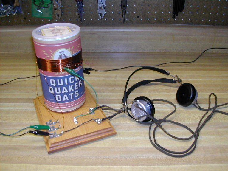 how do you make a crystal radio