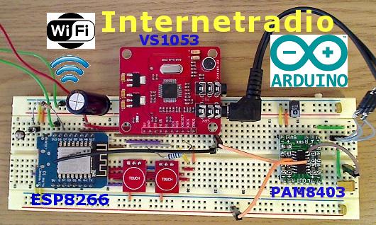 Arduino Webradio Mit Esp8266 Diy Basteln Badezimmer Wifi Radio Mit Ldr Licht Gesteuert Dammerungsschalter Gunstiger A Diy Basteln Arduino Projekte Arduino
