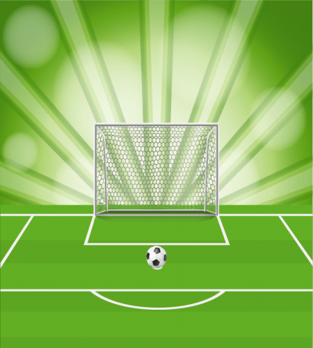 تصميم كرة قدم ضربة جزاء ملف مفتوح تحميل مباشر Graphic Design Logo Vector Free Goals Template