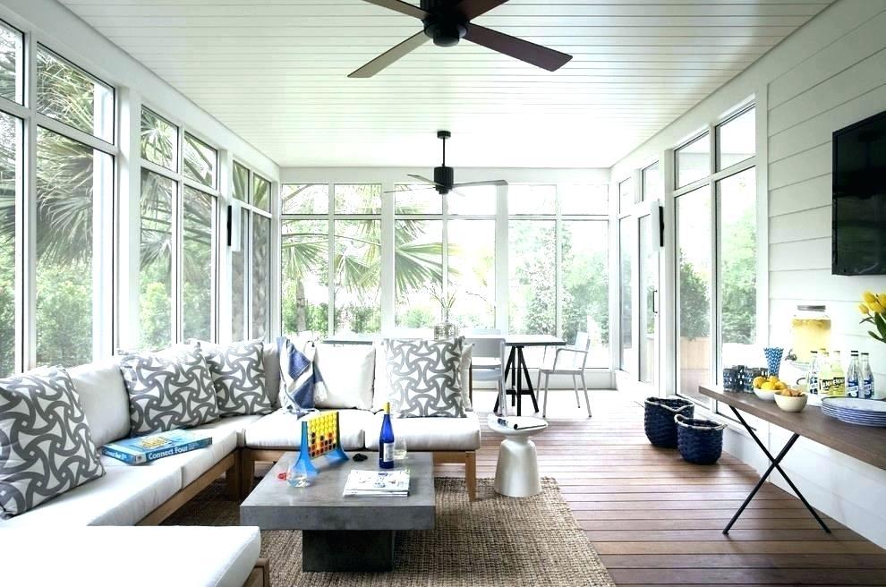 3 Season Room Cost Porch Furniture Best, Three Season Room Furniture