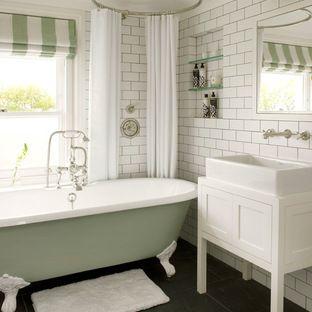 Latest From Houzz  Bathroom  Pinterest  Houzz Cabin Bathrooms Amazing Bathroom With Clawfoot Tub Ideas Design Ideas