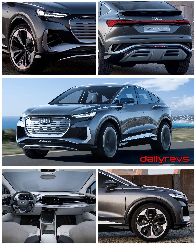 Photo of 2020 Audi Q4 Sportback e-tron Concept – Dailyrevs