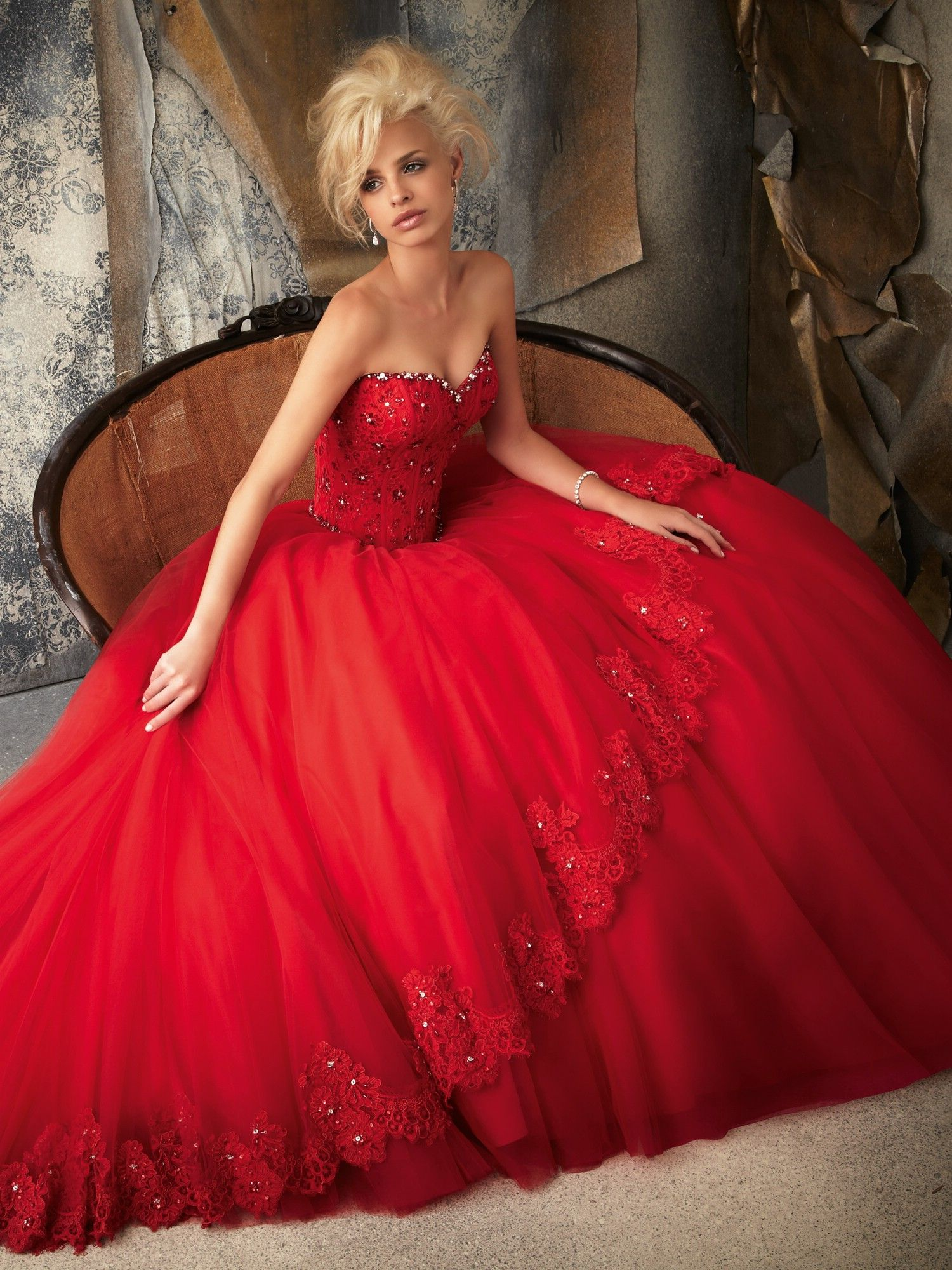 60 beautiful red wedding dress inspiration