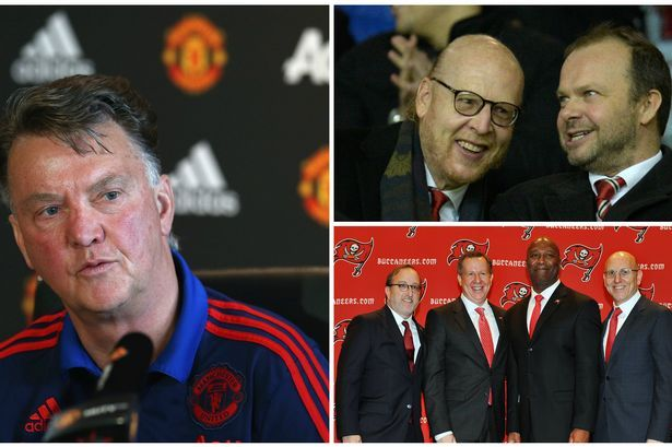 Manchester United Manager Van Gaal Should Be Wary Of Glazers Sacking History Manchester United Van Gaal Man Utd News