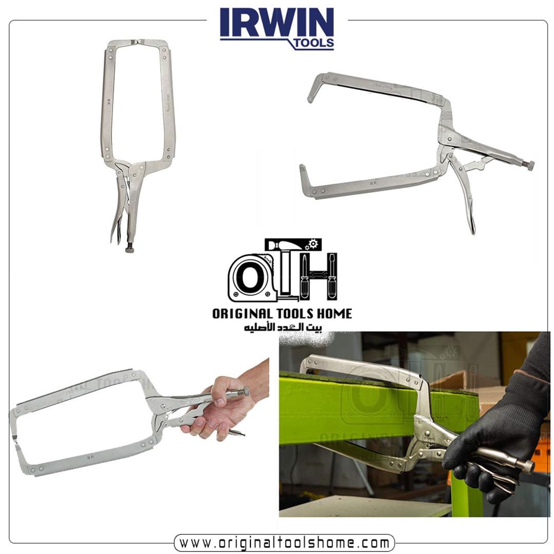 بنسه كلابة حرف سي 18 Irwin Tools Outdoor Power Equipment The Originals