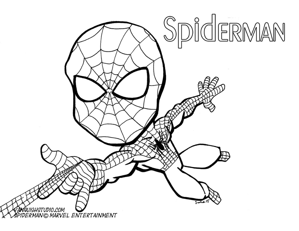 Spiderman2 Coloring Page Vanquish Studio In 2021 Coloring Pages Color 4 Kids