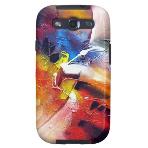 Abstract Expressionism Painting Samsung Galaxy SIII Covers