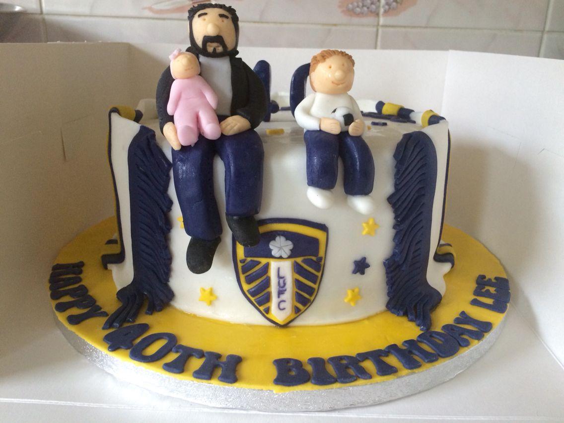 Leeds United cake I made My Homemade Cakes Pinterest Homemade