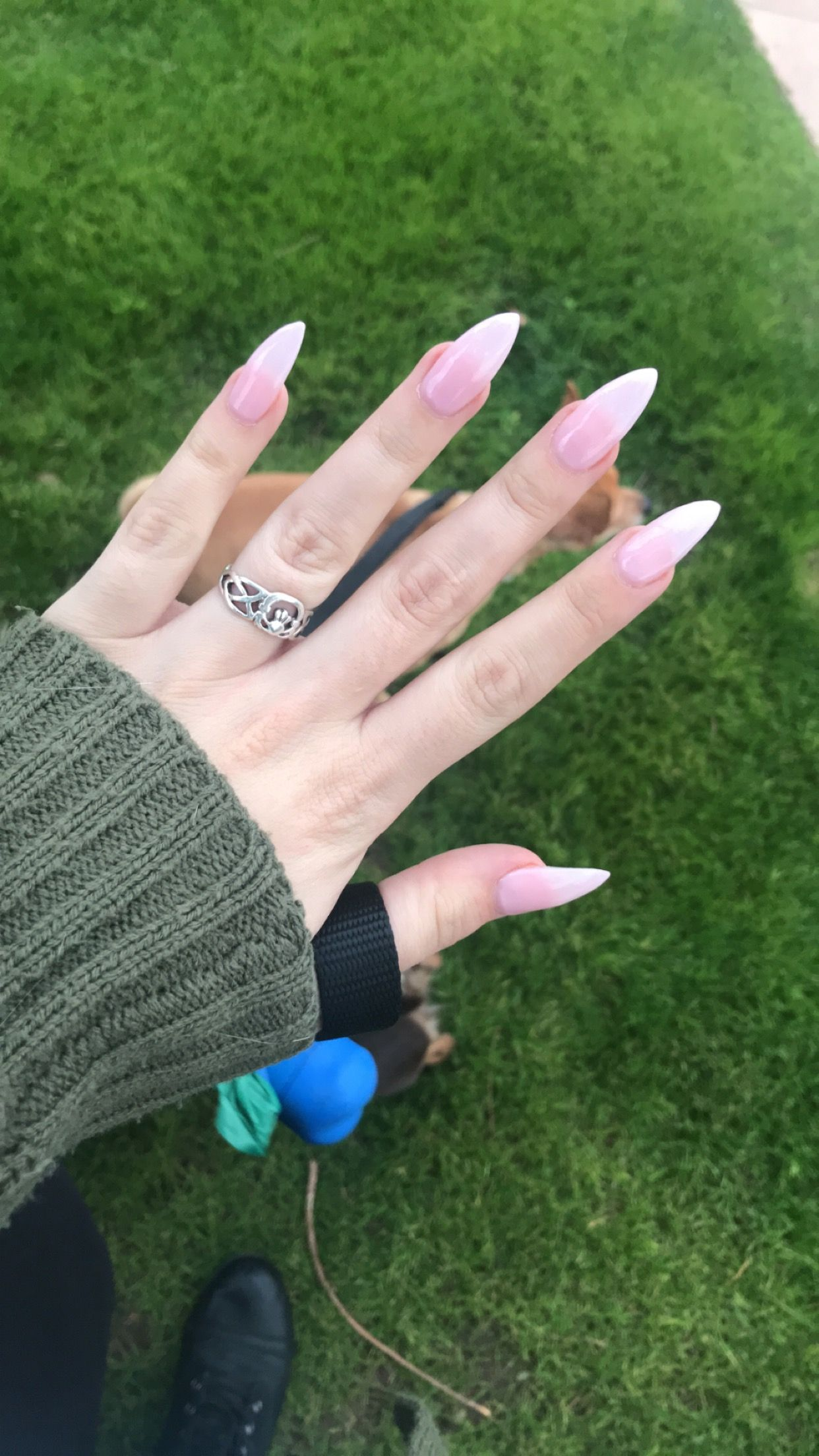 Clear Pink Stiletto Nails Pink Stiletto Nails Pink Nails Stiletto Nails