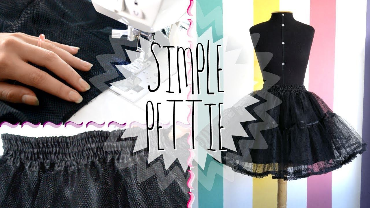 como hacer una Crinolina | Faldas y vestidos | Pinterest | Costura ...