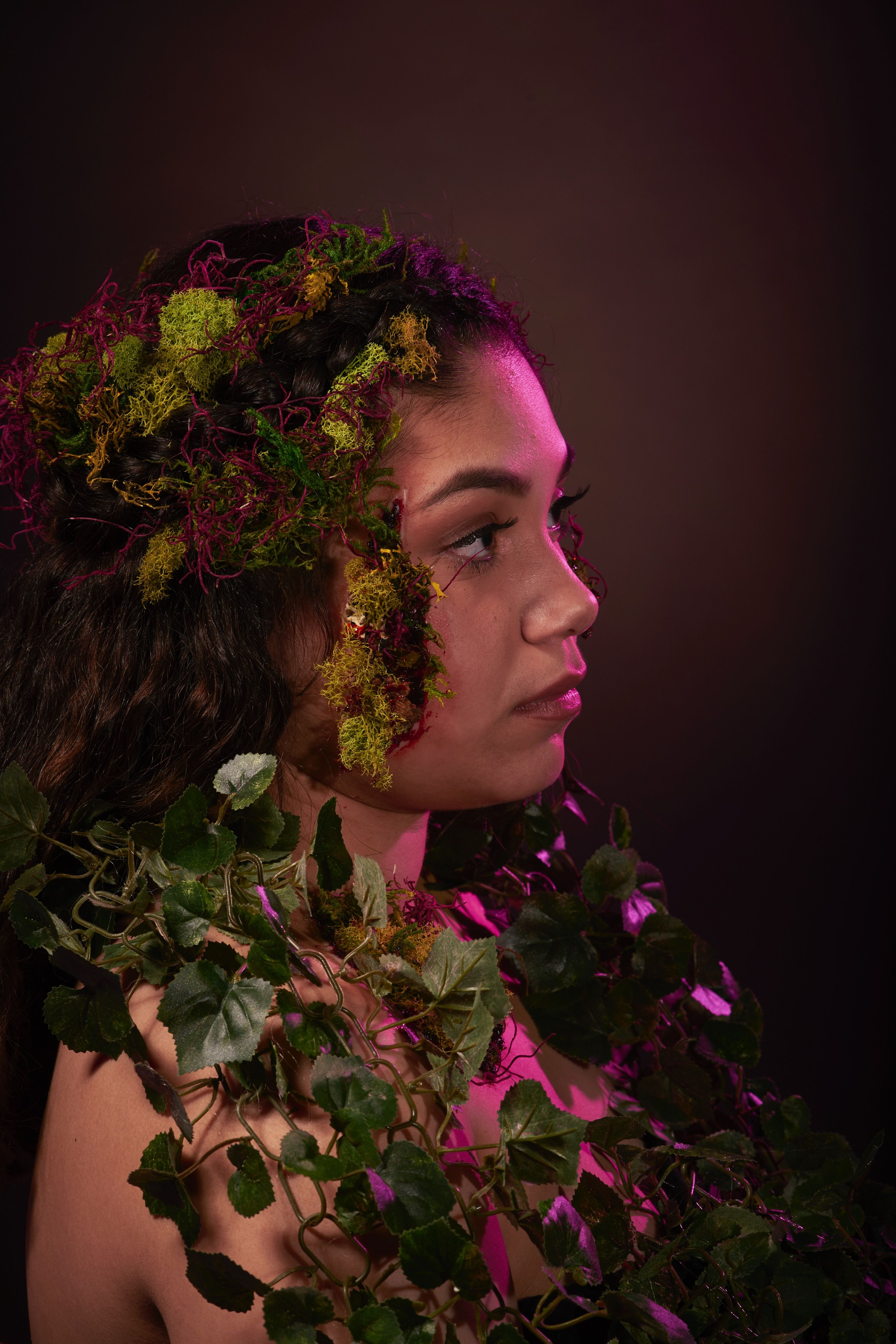 Eve from the Garden of Eden....Courtney re-created \'Eve\' as if she ...