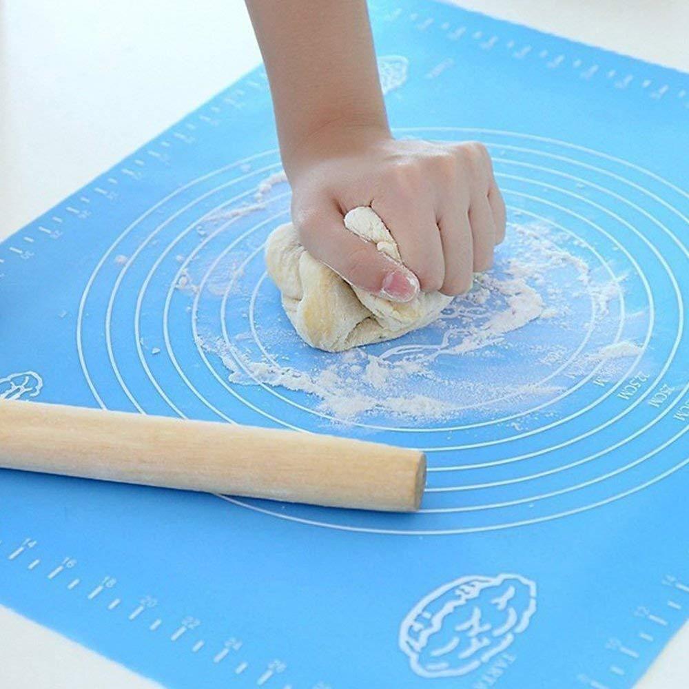 Silicone Baking Mat Durable Kitchen Bakery Non Stick Xl Board Pastry 15 7x19 7 Ebay Baking Mat Silicone Baking Mat Silicone Baking