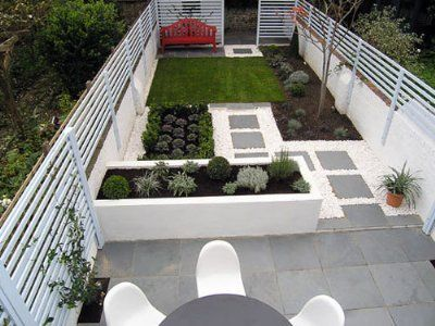 Fotos jardines peque os de casas jardin pinterest for Jardines pequenos de casas fotos