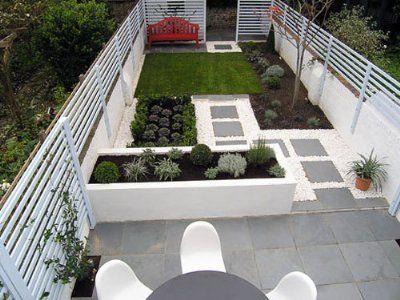 fotos jardines peque os de casas jardin pinterest