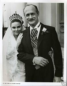 Actors Delta Burke And Gerald Mcraney At Their May 28 1989 Wedding