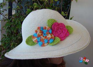 JuJu & LeLê: Chapéu de Crochê