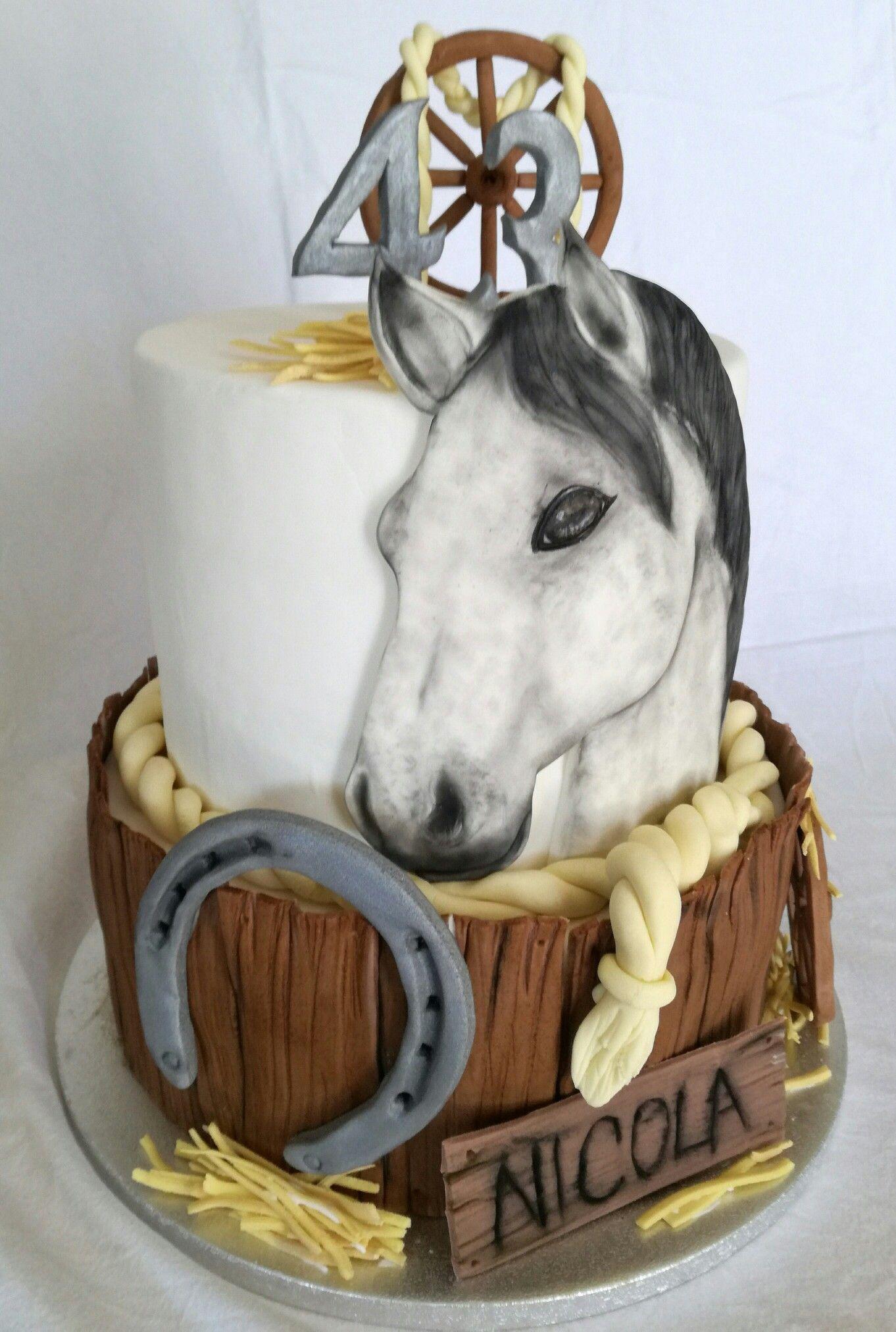Torta Cavallo Le Mie Torte In Pdz Cake Birthday Cake