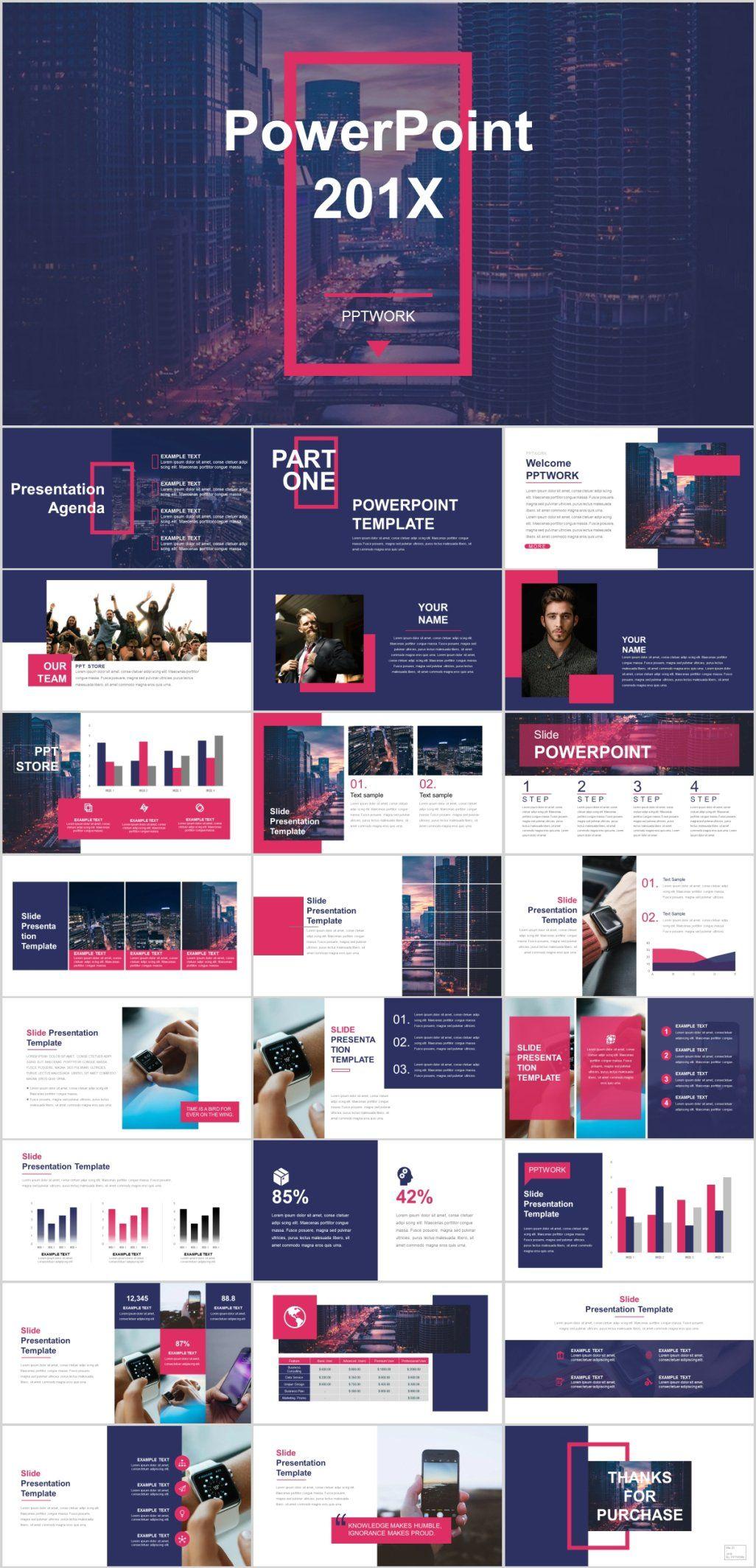 Clean Social Media Design Powerpoint Template Pcslide Com Powerpoint Presentation Powerpoint Presentation Design Presentation Slides Design Keynote Design