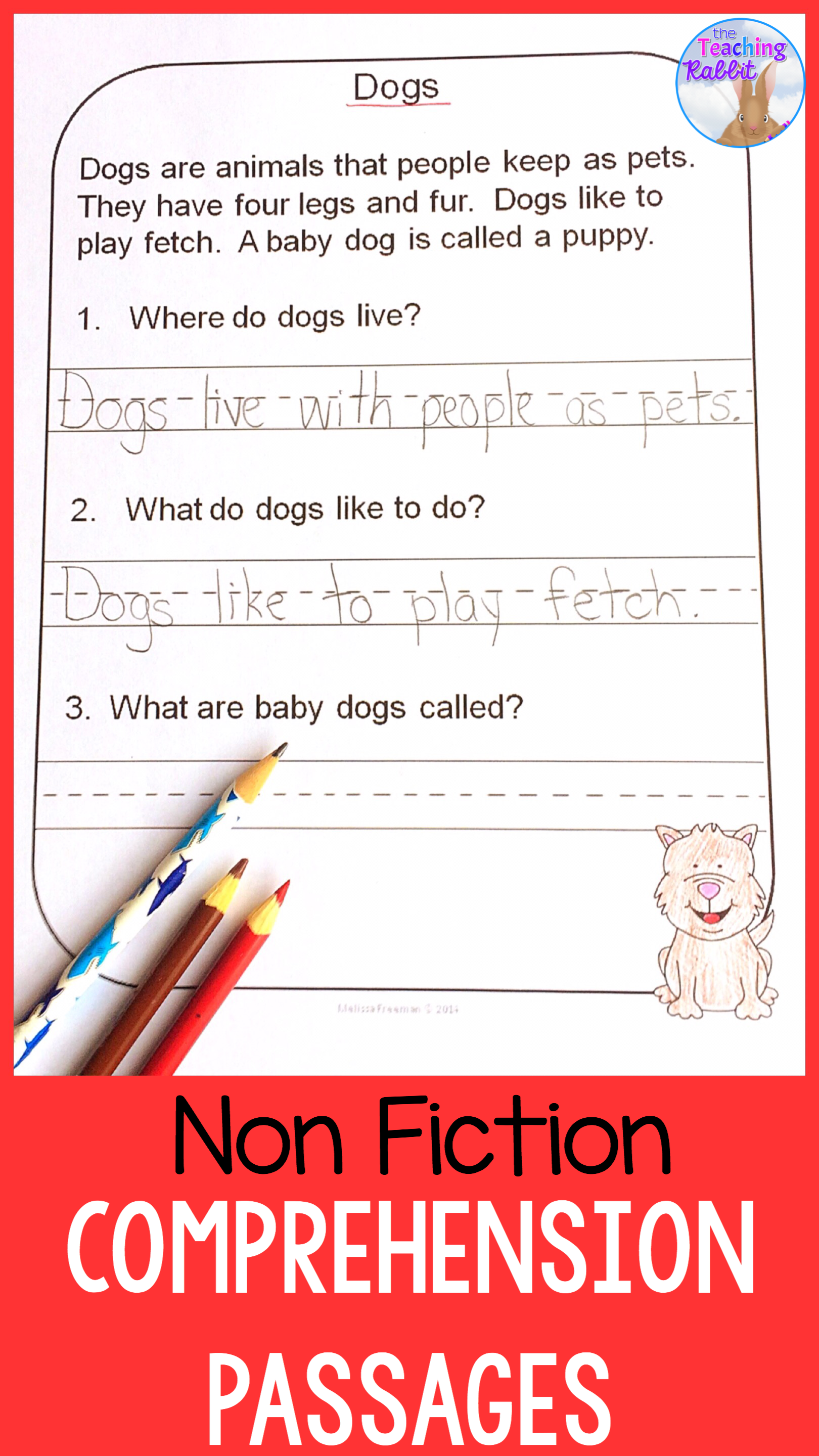 Non Fiction Reading Passages And Questions