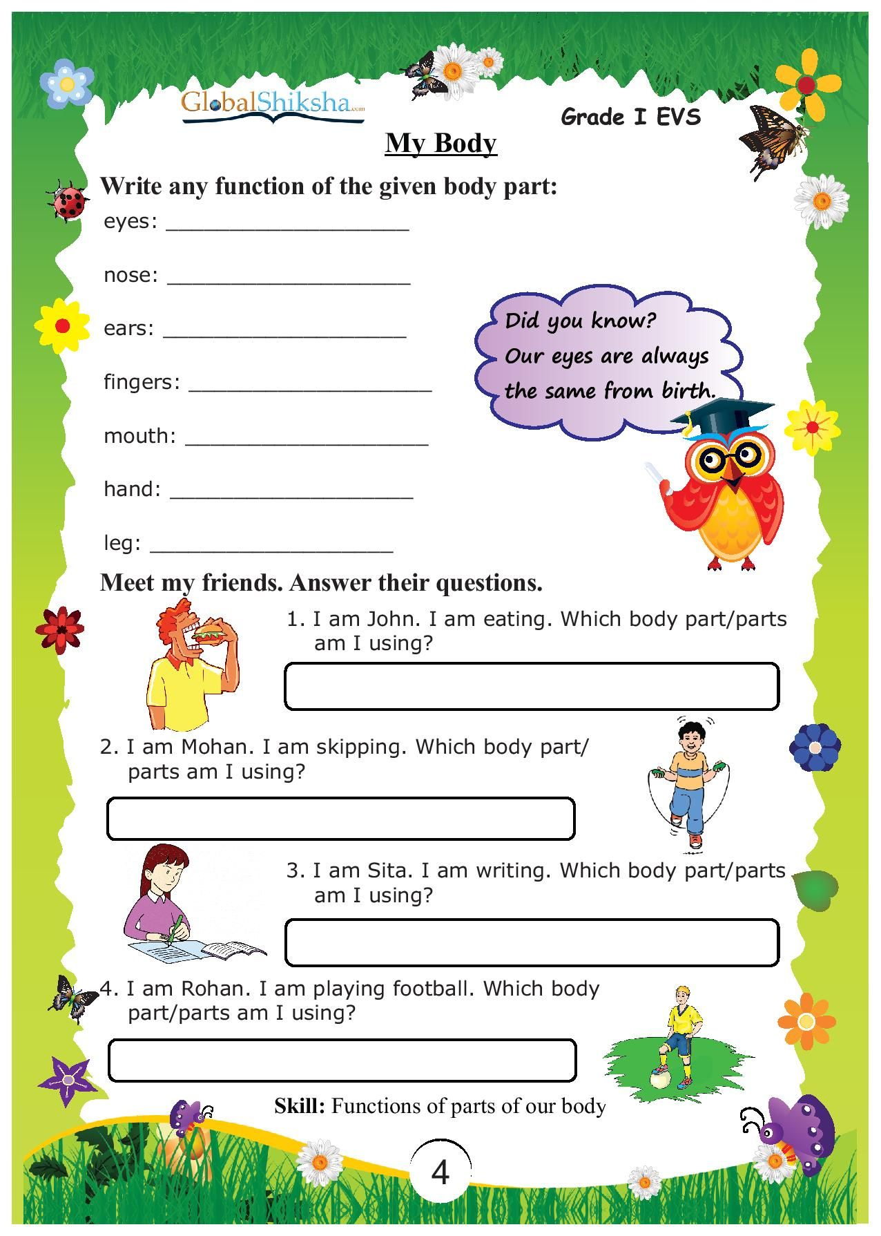 Buy Worksheets For Class 1