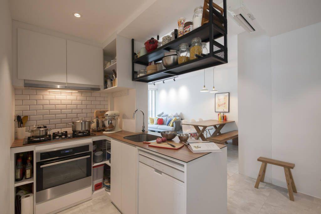10 ideias de prateleiras para instalar na sua cozinha  (De Marina Mantovanini)