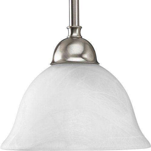 Progress Lighting P5068 09 1 Light Stem Hung Mini Pendant With